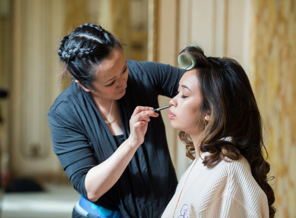 Stephanie Foo MakeUp Artist Bridal Getting Ready